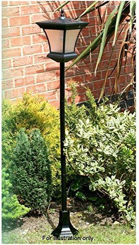 Crazy Shop MDL-New 1.3m Solar Powered Garden Lamp Post Outdoor Patio Pathway Light Lighting Shopmonk