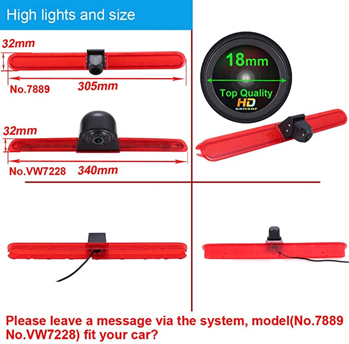 Transporter Bremslicht Rückfahrkamera Hd 1280 720 Elektronik