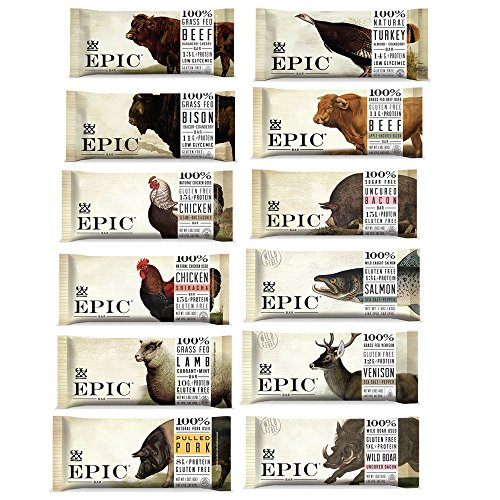 Epic - Epic Bars Variety Pack, 12 Flavors (12 ()