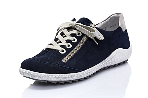 Zigzip 81 co R1402 Womens Shoes Amazon Navy 14 Remonte Lacing uk EqSZTwUTn