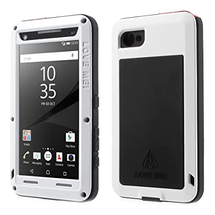 Amazon.com: fonrest – Xperia Z5 Compact Case, aluminio de ...
