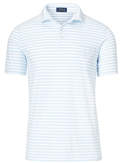 c3d38b16ec4a8 RALPH LAUREN Polo Men s Classic-Fit Striped Short-Sleeve Polo Shirt ...