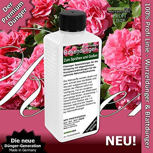 Rosen-Dünger Beetrosen Edelrosen Strauchrosen HIGHTECH Rosen Dünger Pflanzen