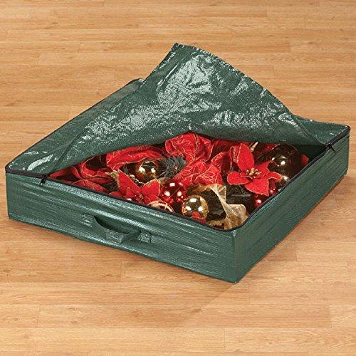 """EazyDeco 4-Ft. Pop-Up Christmas Tree Storage Bag - 21"""" L x 21"""" W x 4 1/2"""" H"""