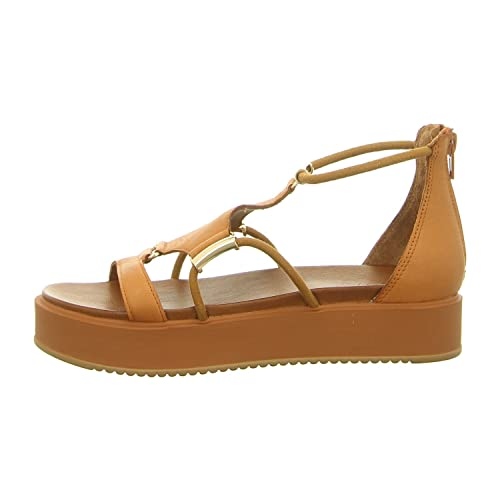 07f1f4bfceb Inuovo 8729 Womens Leather Sandals - Gold  Amazon.co.uk  Shoes   Bags