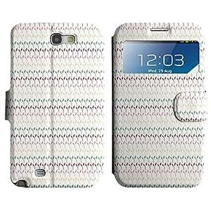 LEOCASE Hojas Lindo Funda Carcasa Cuero Tapa Case Para Samsung Galaxy Note 2 N7100 No.1001173