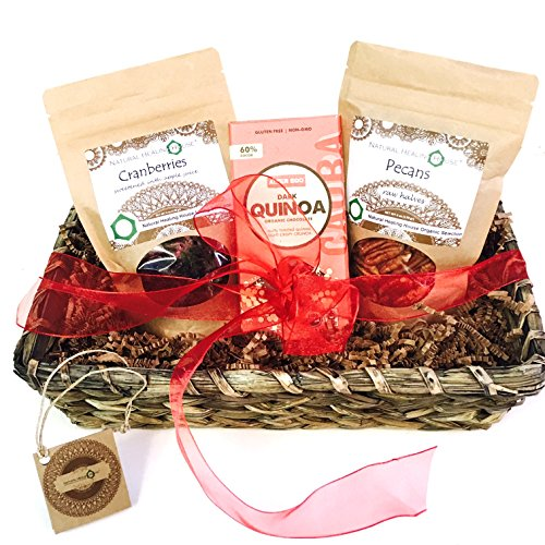 Organic Nuts and Superfoods Romantic Gift Basket (Romantic Gift Baskets)