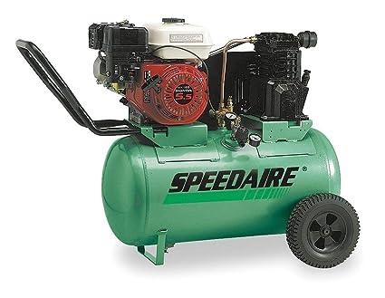 Amazon.com: Speedaire 20 gal 55 HP Barrel Portable Gas Air Compressor - 4B241: Home Improvement