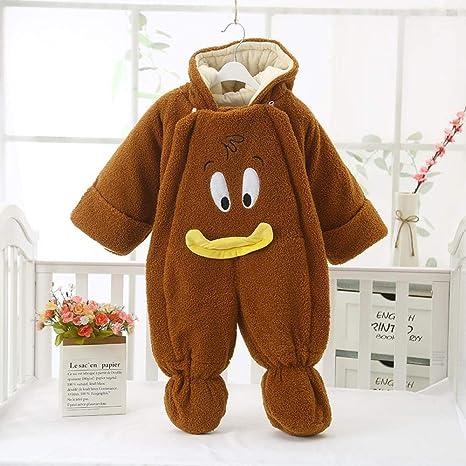Saco de dormir para bebé suave y cómodo Saco de ropa siamés bata de oso de dibujos animados algodón rojo neto Una cremallera de dos vías Pijama cálido unisex: Amazon.es: Bebé