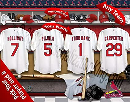 St Louis Cardinals Personalized Team