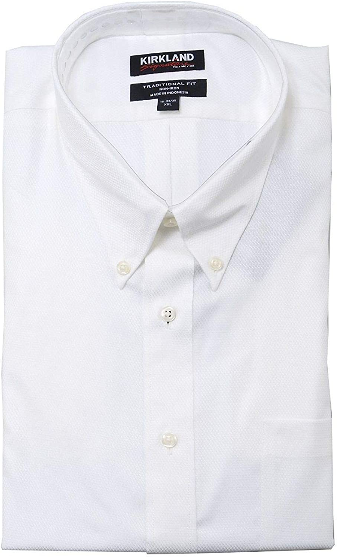 Kirkland Signature Traditional Fit Non-Iron Button Down Dress Shirt variety!