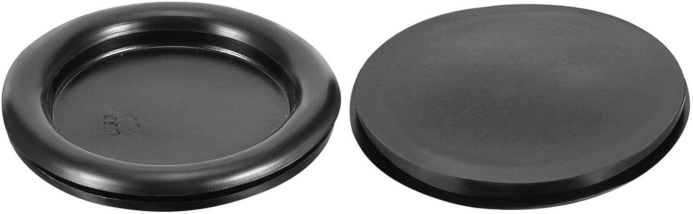 Agger Wire Protector Grommets Oil Grommets Resistant Armature Rubber Grommets 40-90MM Black