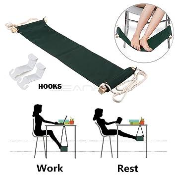 Foot Hammock Portable Adjustable Foot Rest Under The Desk - 7 foot office table