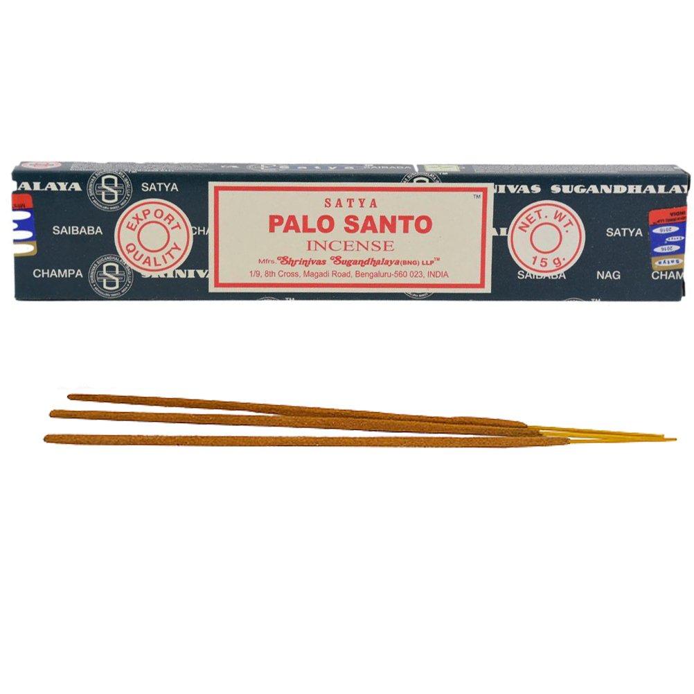 Satya Palo Santo Incense Sticks x 3 Boxes -15 per Box Shrinivas Sugandhalaya