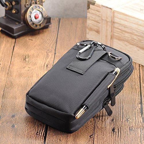 Nylon Cellphone Bag Iphone 8 Plus Case Pouch Cross Body