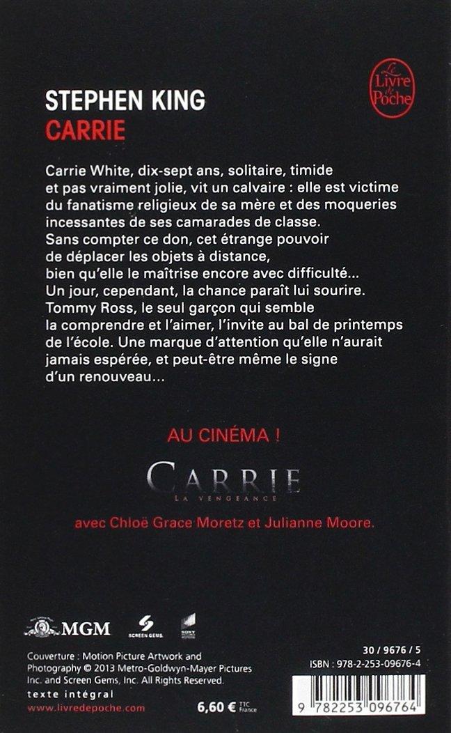 Carrie Livre De Poche Fantastique French Edition