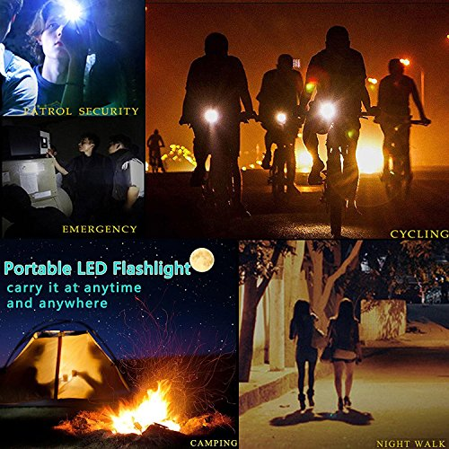 Large Product Image of Tactical Portable LED Flashlight 1000 Lumens with 5 Modes