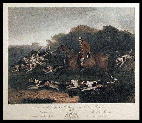 Belvoir Hounds (T. Goosey, Huntsman, to the Belvoir Hounds)