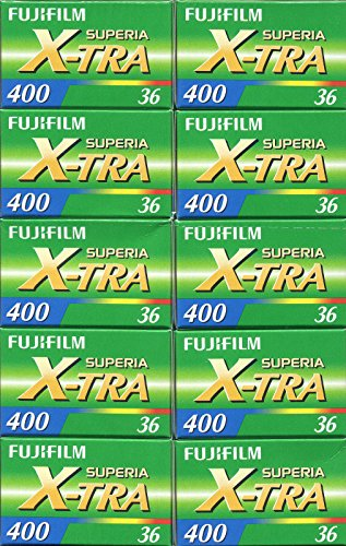 lm Superia X-tra ISO 400 36 CH-135-36 35mm Color Print Film ()