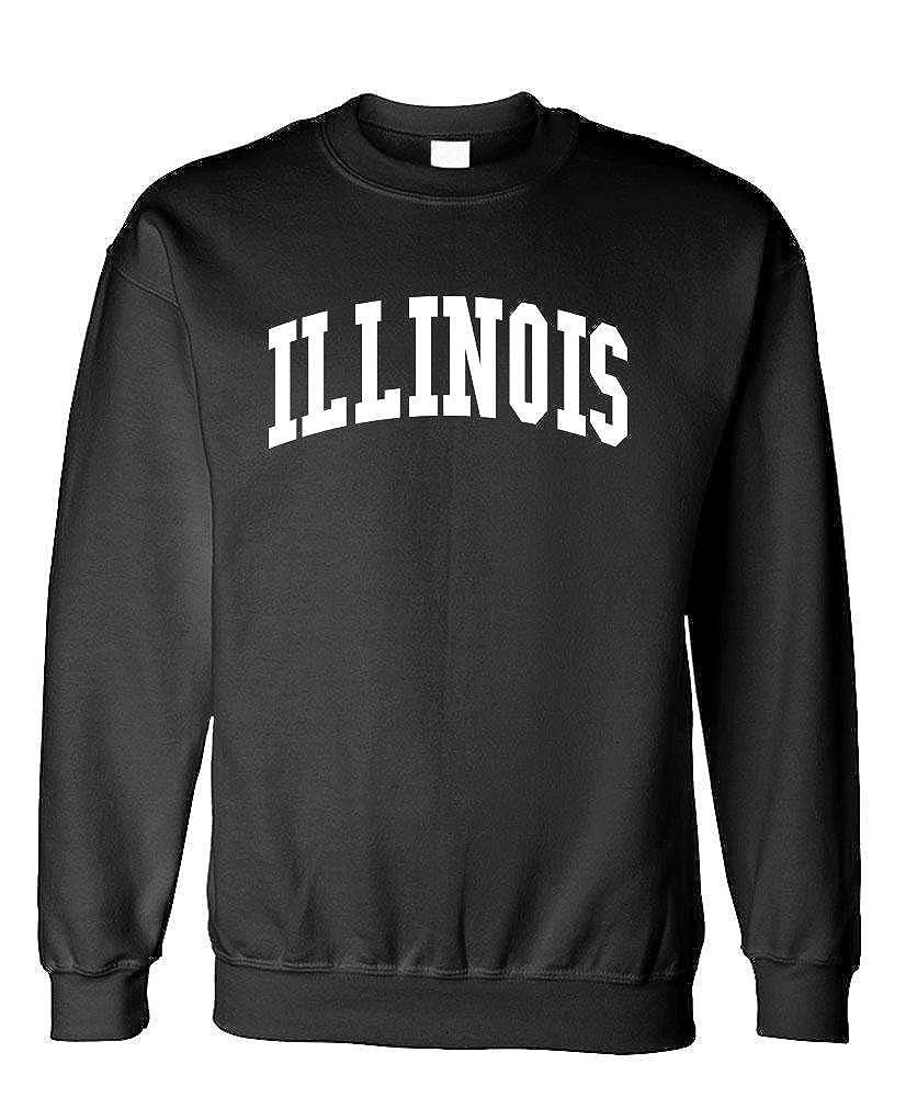 USA America State Pride Patriotic The Goozler Illinois Fleece Sweatshirt