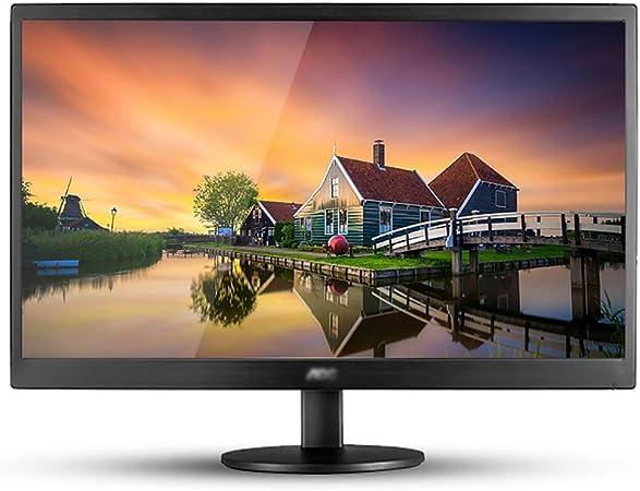 Monitor montado en la pared monitor de pantalla de casa, pantalla AOC pantalla del ordenador 18,5 pulgadas, protección for los ojos llevado visión amplio monitor de ordenador LCD de ángulo, oficina pa: