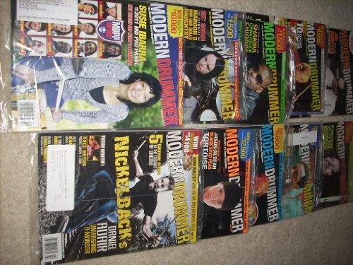 (13 New MODERN DRUMMER Magazines - 2009 Feb, Jul, Nov, Dec - 2010 Jul, Sep - Dec, 2011 Jan, Feb, Jun, Jul - Daniel Adair, Chris Pennie, Jon Fishman, Steve Jordan, Gene Hoglan, Susie Ibarra, Joey Jordison, Keith Harris, Josh Freeese, Joe Morello +)