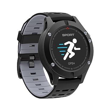Montre de sport Bluetooth, GAKOV GAF5 Bracelet étanche intelligent Montre de fitness à écran couleur
