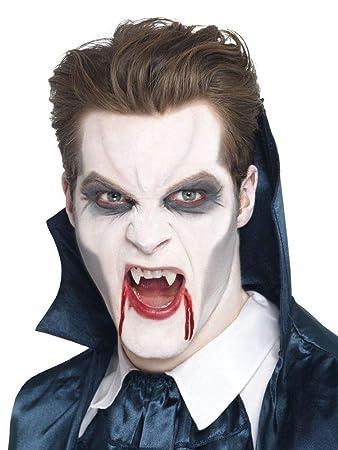 Shoperama Vampir Make Up Schminke Schwarz Grau Weiss Halloween