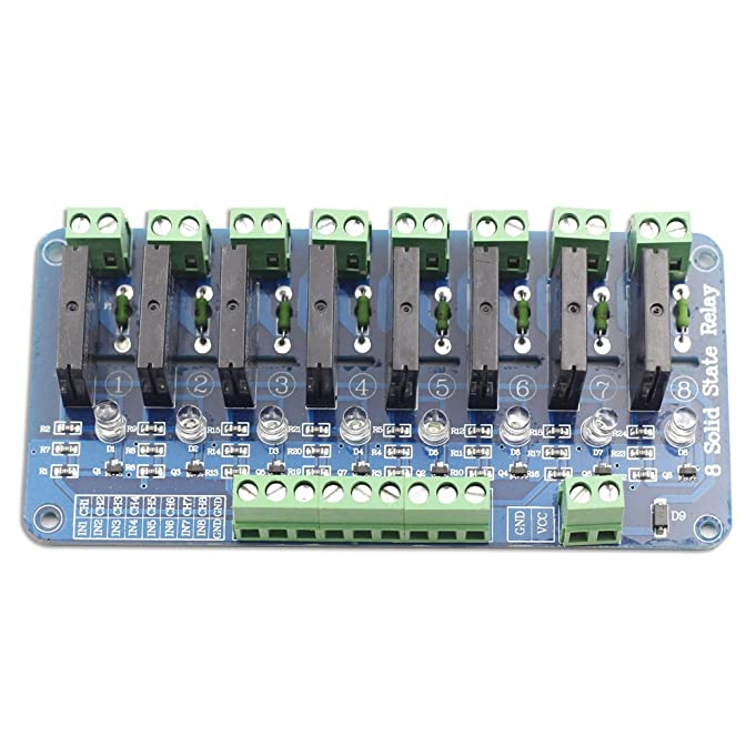 61h0wxMhmGL._SX681_ amazon com sunfounder 5v 8 channel solid state relay board for Relay Switch Wiring Diagram at n-0.co