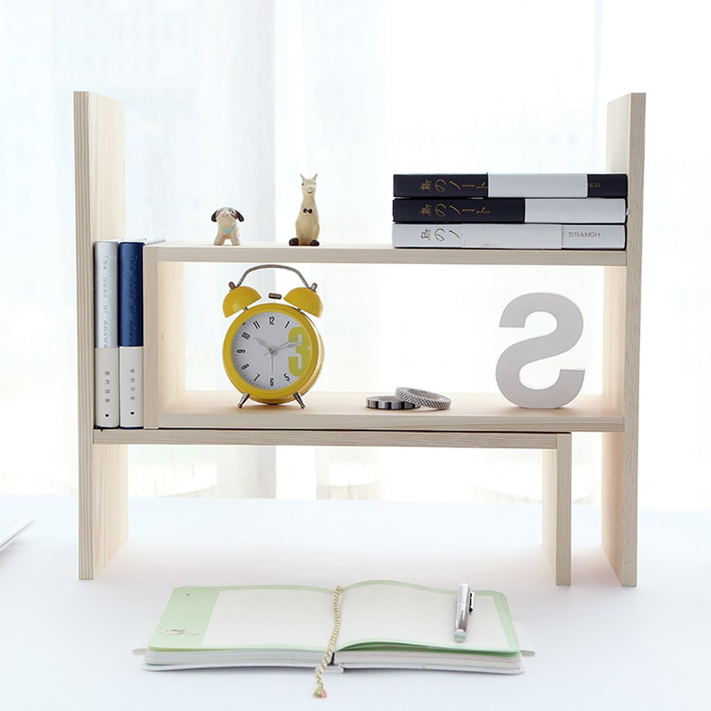 Amazon.com: Book Shelf HYLRUS Japanese-Style DIY Creative ...