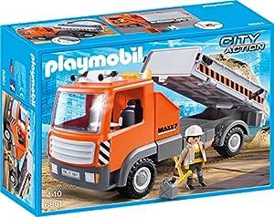 PLAYMOBIL 6861 - Baustellen-LKW, Spielwerkzeug