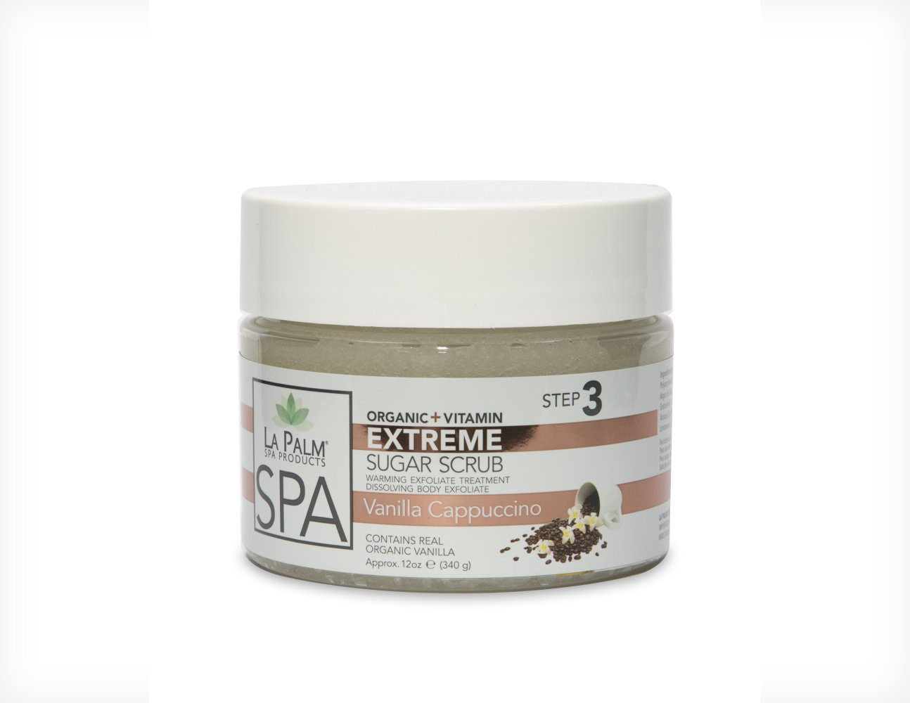 LA PALM EXTREME SUGAR SCRUB (Honey Pearl)