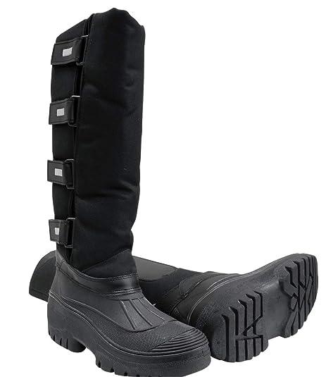 Botas de correr lindal Thermo negro   Invierno botas de correr ...