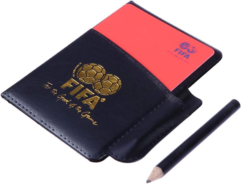 tarjetas para arbitro de fútbol