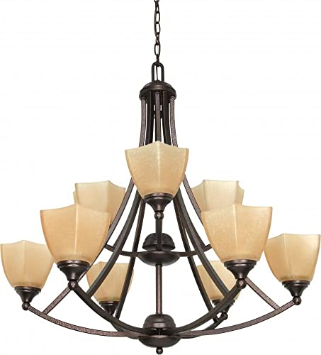 Nuvo Lighting 60 063 Nine Light Chandelier