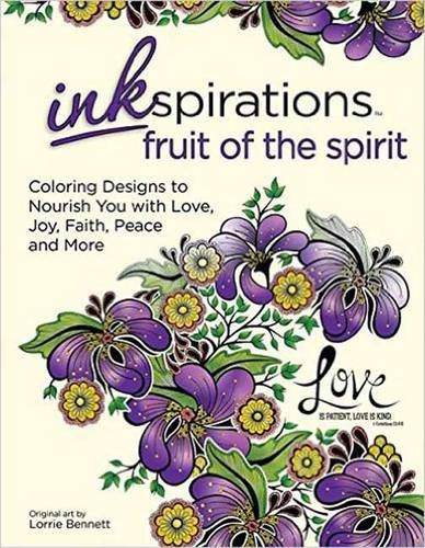 Inkspirations Fruit of the Spirit: Coloring Designs to Nourish You with Love, Joy, Faith, Peace and More (Drawing Fruit compare prices)