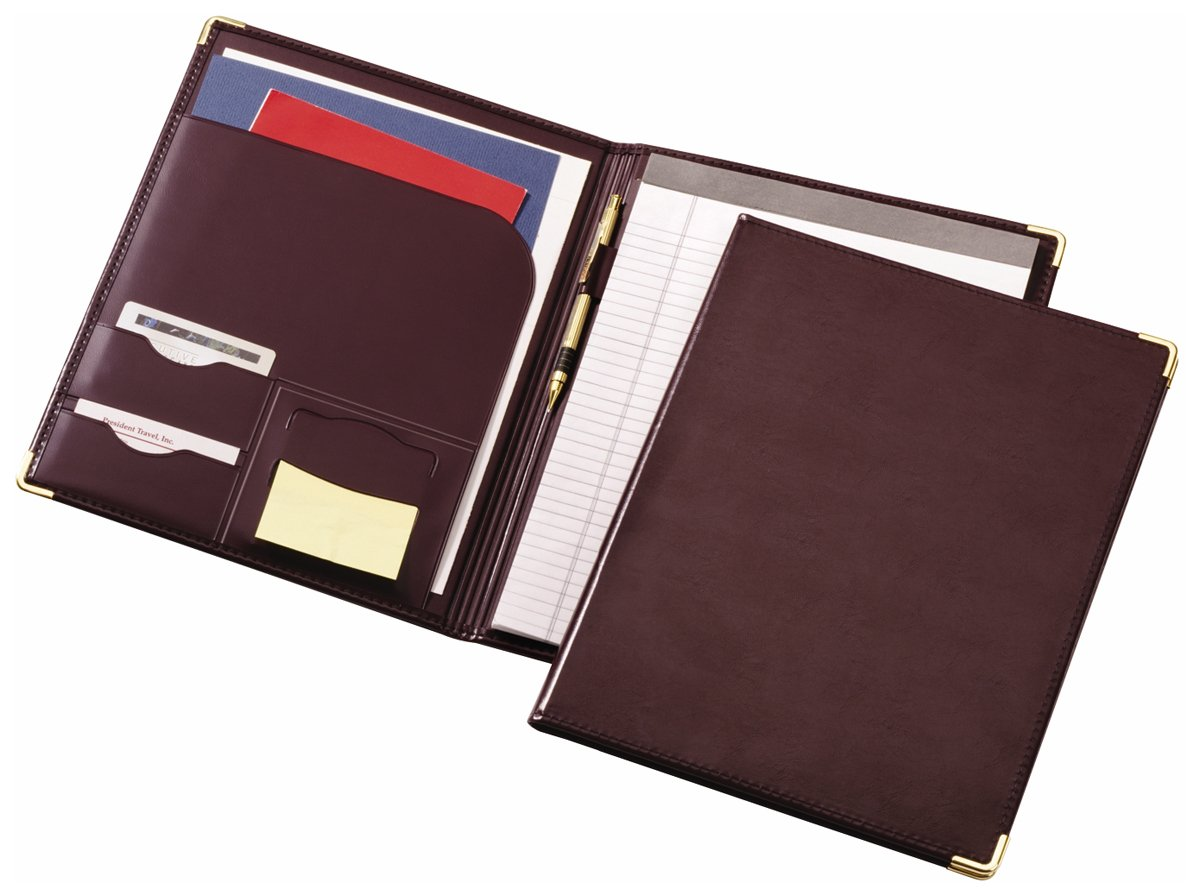 TOPS Cardinal Sewn Vinyl Padholder, Letter Size, Burgundy (47222 970)