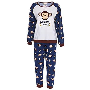 best service e2f82 ff617 Langarm Schlafanzug Damen Langarm Hemd Und Set Hose Pyjama ...