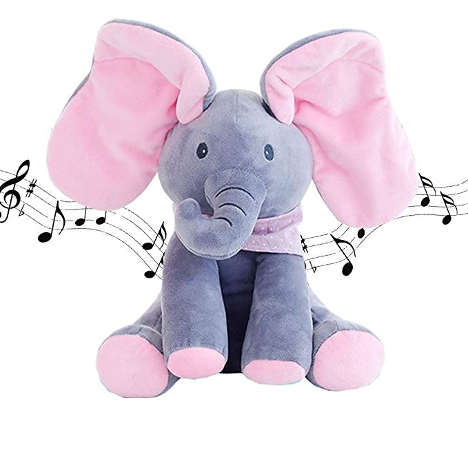 Jntm Elefante Peluche De Juguete, Música Juguete D...