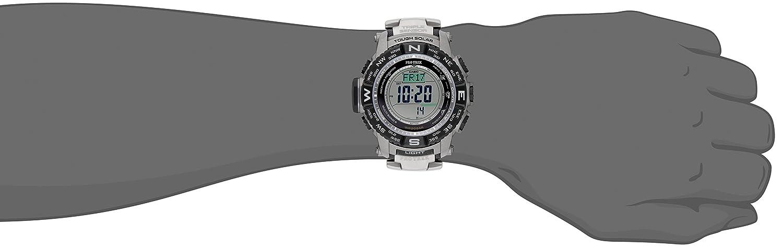 475226a8ca9 Amazon.com  Casio Men s Pro Trek PRW-3500T-7CR Tough Solar Triple Sensor  Digital Sport Watch  Casio  Watches