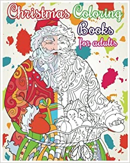 amazoncom christmas coloring books for adults christmas designs for relaxation 100 pages 9781537600352 rosetta hazel books