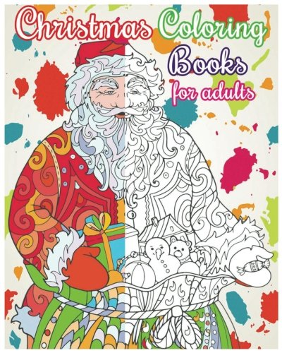 Christmas Coloring Books For Adults: Christmas Designs For Relaxation (+100 Pages) PDF