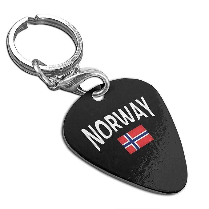 Amazon com: Norwegian Flag Custom Guitar Pick Pendant