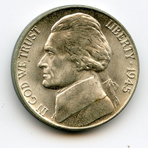 1945 P Jefferson Extra Metal Nickel MS-65
