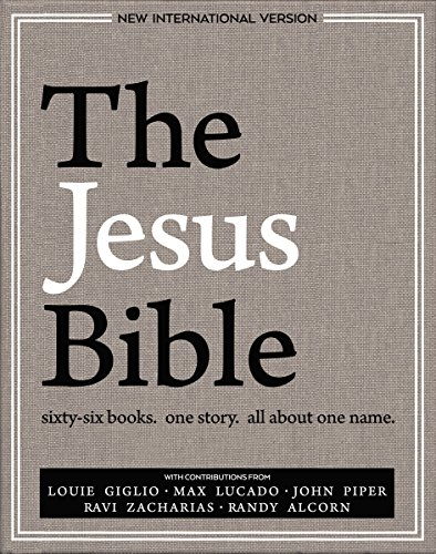 The Jesus Bible, NIV Edition, eBook cover