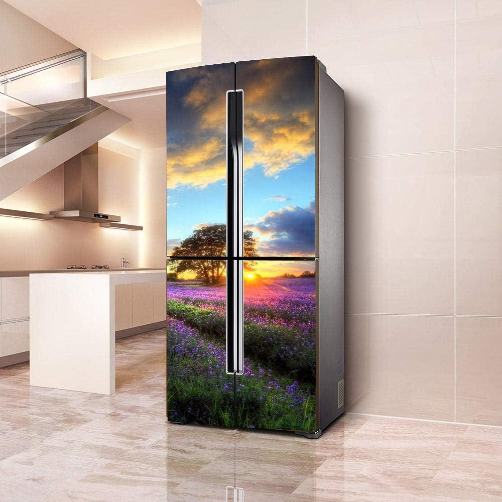 Etiqueta De La Pared Creativo Refrigerador Decorado Romántico ...