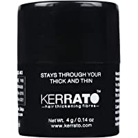 Kerrato Hair Thickening Fibers, 4 g (Black)