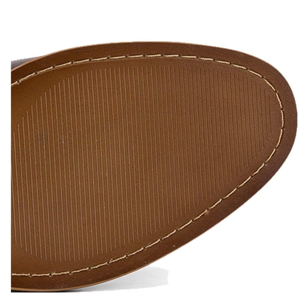 YCGCM Herrenschuhe Bequeme Casual Lace Britischen Brock Bequeme Herrenschuhe Tragbaren Trendy Niedrig top Schuhes Deepcoffee 7f0b87