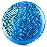 AIFUSI Inflated Stability Wobble Cushion Round Balance Disc Seat Balance Cushions Rehab, Exercise