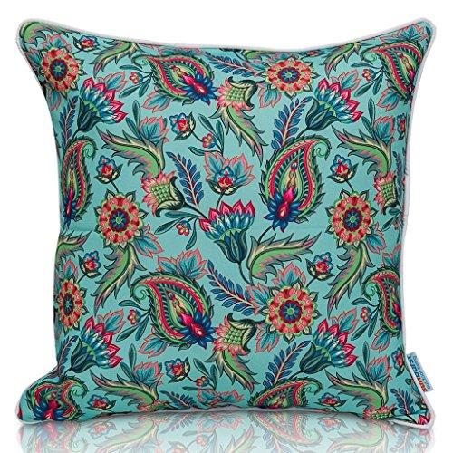 Outdoor Throw Pillows Paisley (Sunburst Outdoor Living 20
